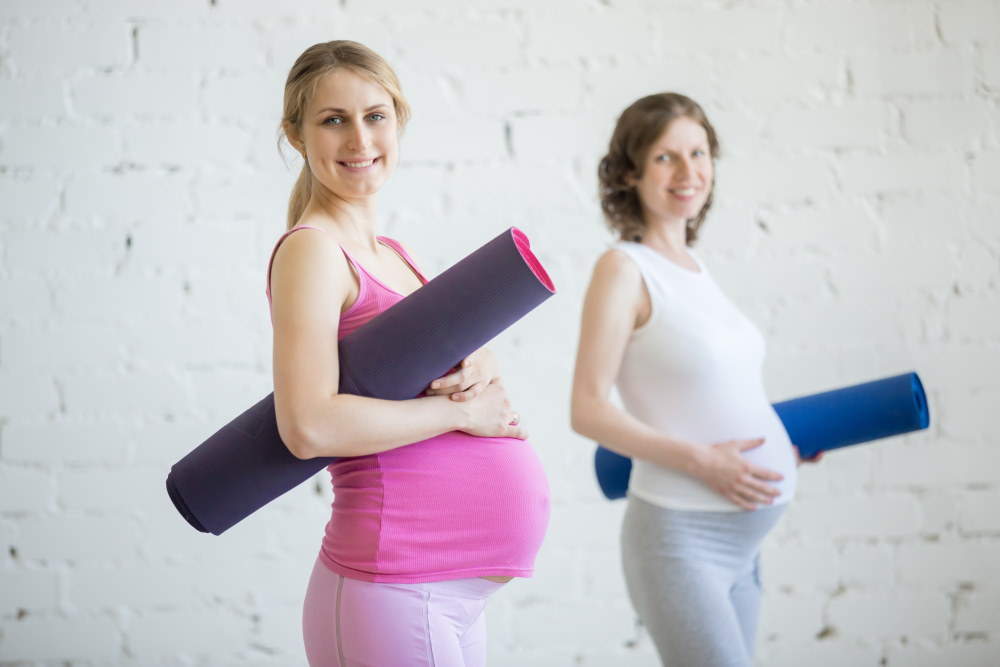 Pregnant Women Ready For Exersise